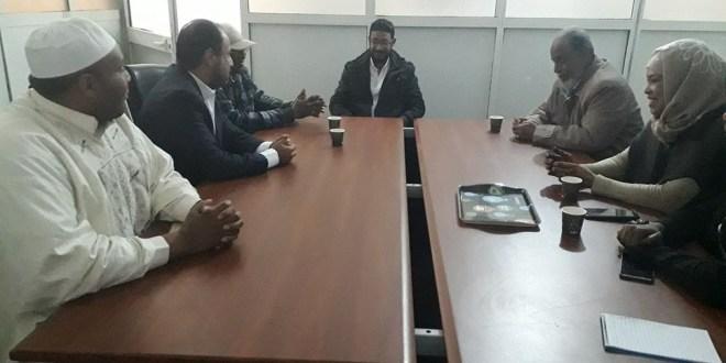 اجتماع نقابة صحافيي سبها (الصورة: عن فسانيا).