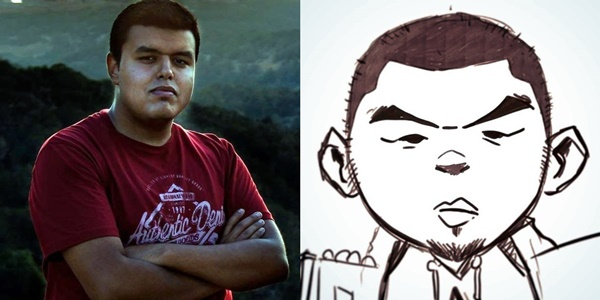 الفنان عبدالله هديه.