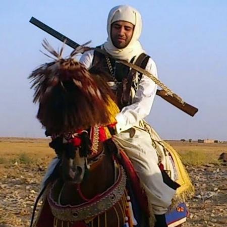 فارس ليبي (الصورة: الشبكة).