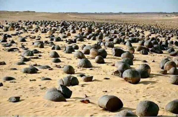وادي الكواكب في الصحراء الليبية (الصورة: الشبكة).