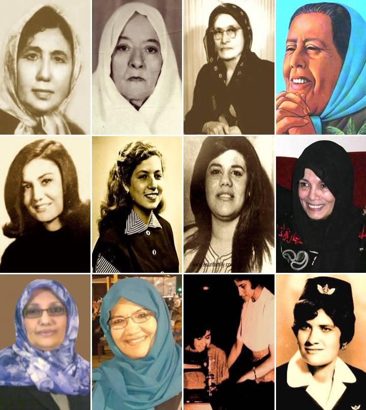 رائدات ليبيات (الصورة عن: صفحة السقيفة الليبية)