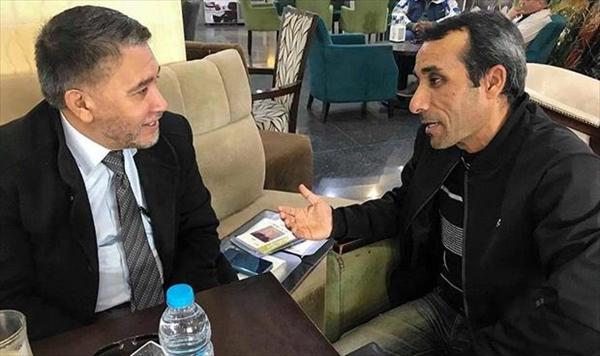 الكاتب الصحفي عبدالسلام الفقهي في حوار مع الشاعر محمد المزوغي