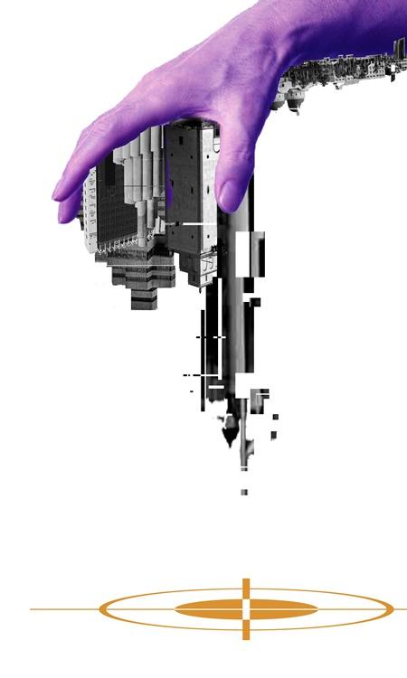 من أعمال التشكيلية أسماء بشاشة