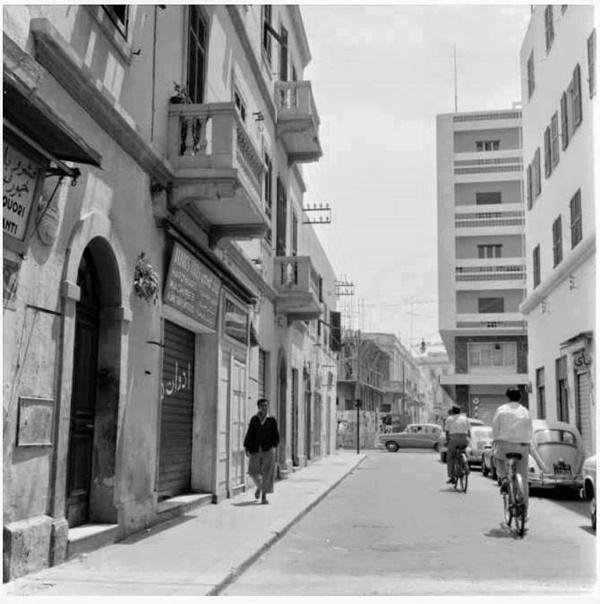 من شوارع مدينة طرابلس القديمة