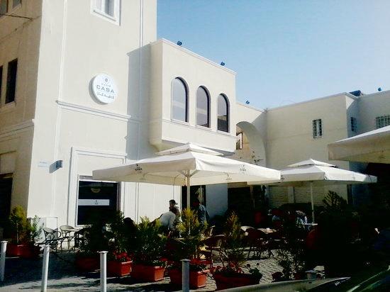 مقهى كازا ميدان الساعة مدينة طرابلس