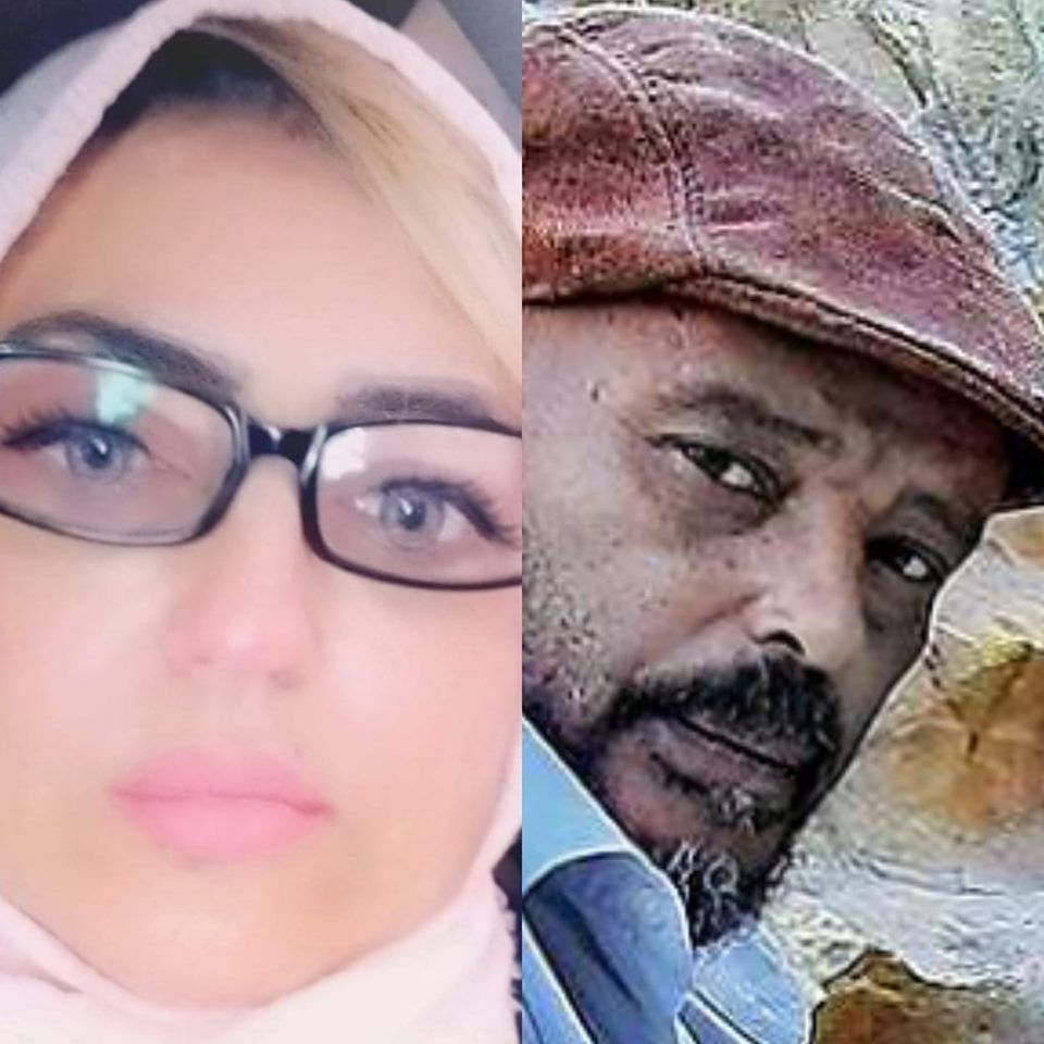 الكاتب مصطفى جمعة والشاعرة سهام الدغاري