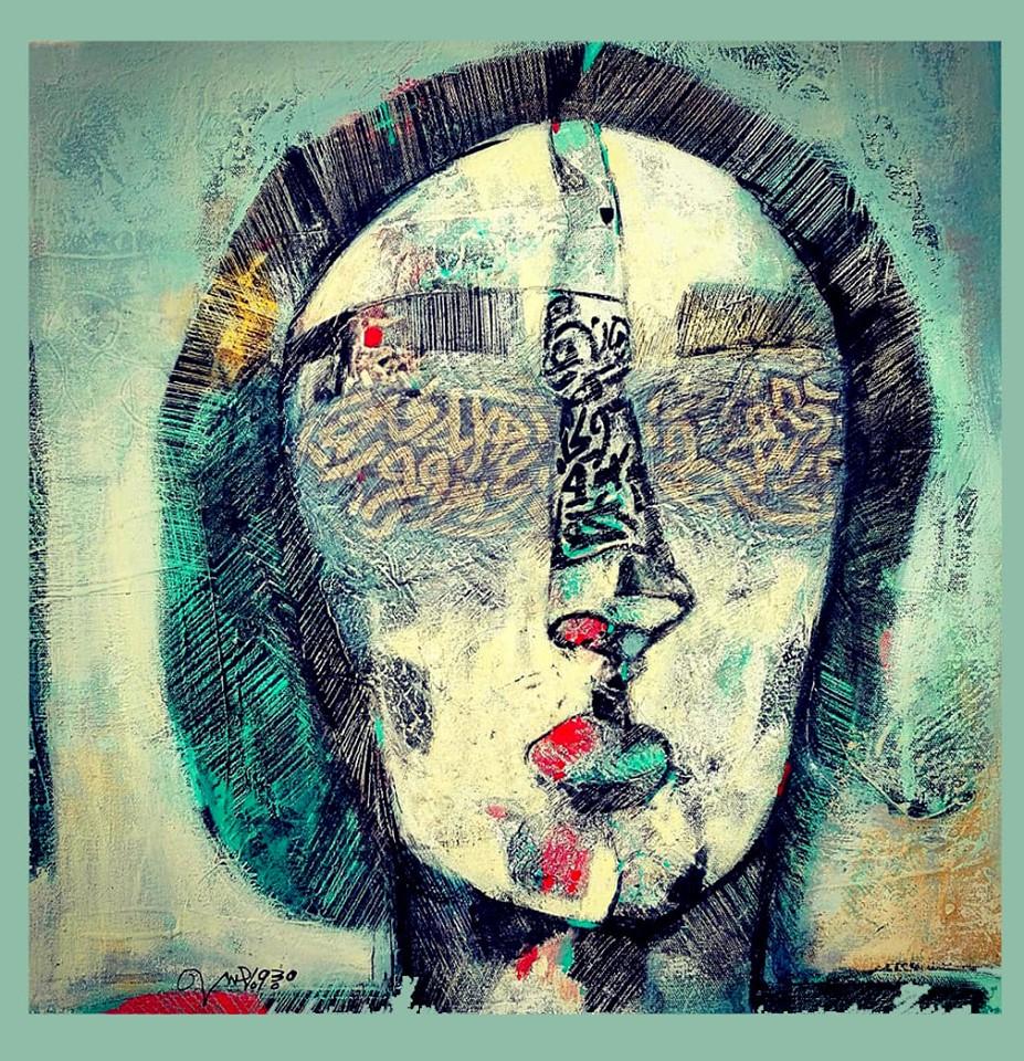 من أعمال التشكيلي السوداني محجوب العوض
