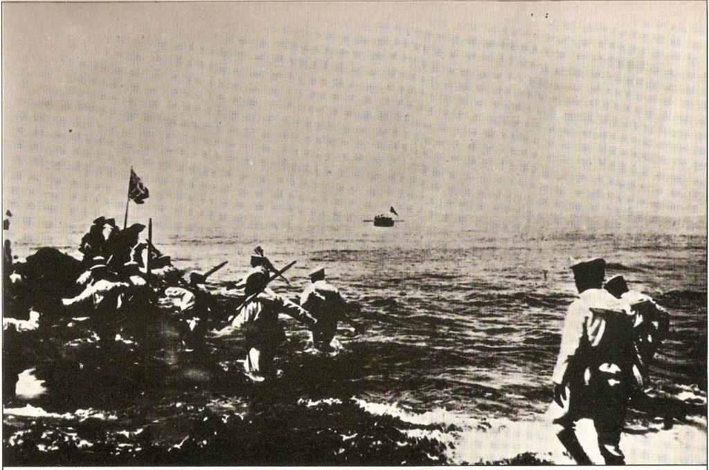 الإيطاليون على شواطئ طرابلس