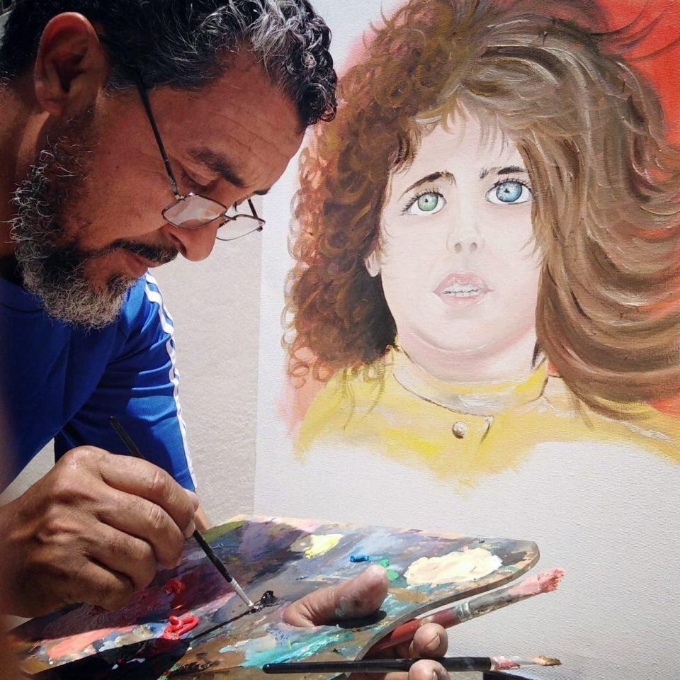 التشكيلي حسن رجب أبوعزة