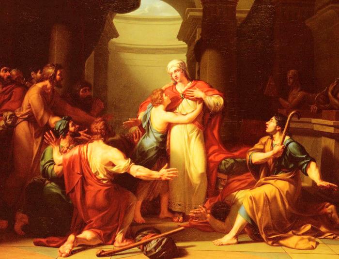أيوكاستا في مسرحية أوديب (الصورة: عن الشبكة)
