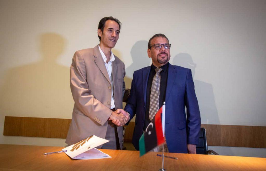 توقيع اتفاقية للتعاون والتكامل الثقافي والإعلامي والتقني (الصورة: الهيئة العامة للثقافة)