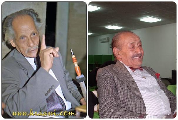 شاعر الشباب علي صدقي عبدالقادر، والكاتب والأديب علي مصطفى المصراتي