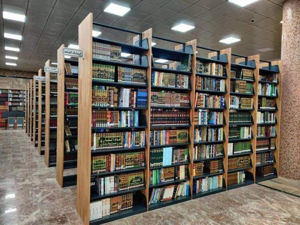 أروقة مكتبة المركز