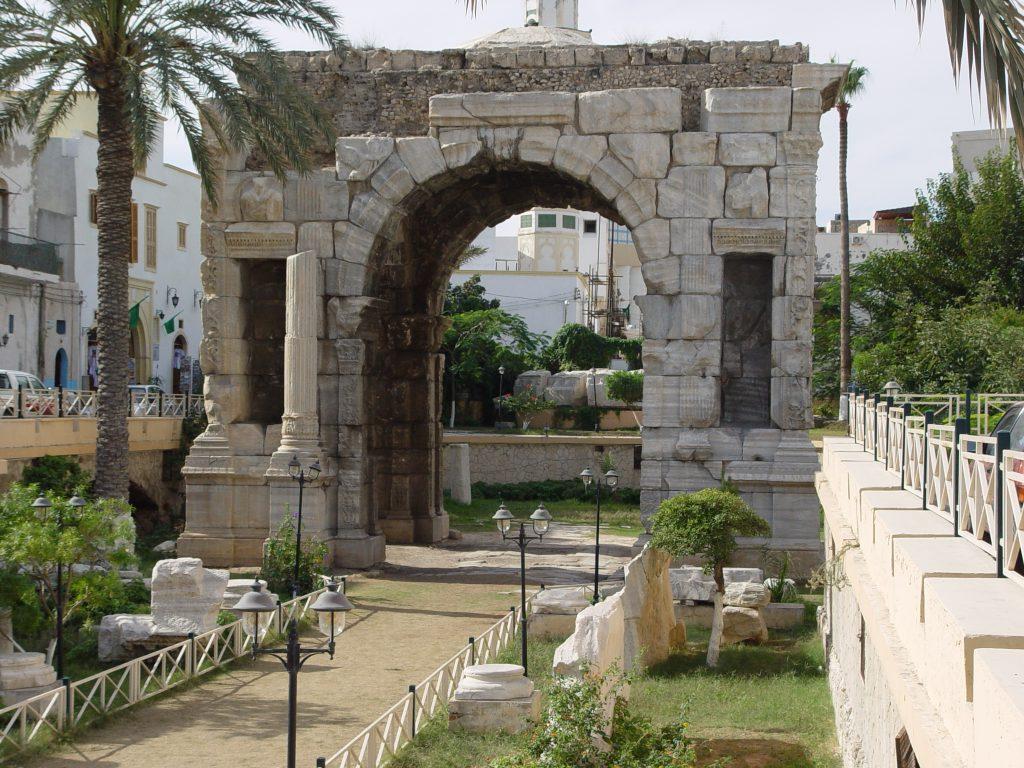 قوس ماركوس أوروليوس (الصورة: عن الشبكة)